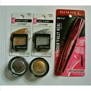 Lot of 5 Eye Makeup Products Rimmel, Maybelline